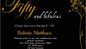 50th Birthday Party Invitation Wording 50th Birthday Invitation Wording Samples Wordings and