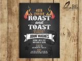 50th Birthday Roast Invitations 17 Best Ideas About Birthday Invitations Adult On