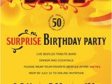 """50th Birthday Roast Invitations """"all You Need is Dave """" Dave's Surprise 50th Birthday Party"""