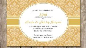 50th Wedding Invitations Designs 50th Wedding Anniversary Invitations Wedding Invitation