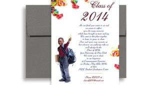 5th Grade Graduation Invitations 2018 5th Grade Elementary Graduation Invitation Example