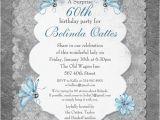 60th Birthday Invitation Sample 60th Birthday Invitation Wording A Birthday Cake