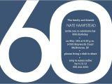 60th Birthday Invites Free Template Template 60th Birthday Invitation