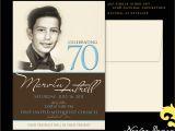 70 Year Old Birthday Invitations 70 Year Old Birthday Invitations 70th Birthday Invitations