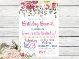 70th Birthday Brunch Invitations Birthday Brunch Any Age 40th 50th 60th 70th 80th Birthday