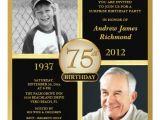 75th Birthday Invitation Wording Ideas 75th Birthday Invitations 50 Gorgeous 75th Party Invites