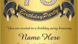 75th Birthday Party Invitation Ideas 75th Birthday Invitations 50 Gorgeous 75th Party Invites