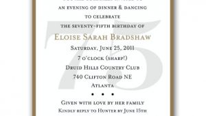 75th Surprise Birthday Invitations Classic 75th Birthday Red Surprise Invitations Paperstyle