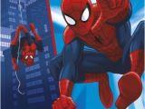 7th Birthday Invitation for Boy Spiderman theme Uk Greetings Spiderman 7th Birthday Card Whsmith