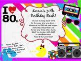 80s Bachelorette Party Invitations 1980 39 S Invitation 80 39 S theme Party Bachelorette