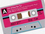 80s Bachelorette Party Invitations 80s Party Invitation Custom Printable Pdf Bachelorette