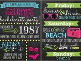 80s Bachelorette Party Invitations Bachelorette Invitation Bachelorette Party Bachelorette