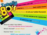 80s theme Party Invitation Templates Free Invite and Delight totally 80 39 S Party