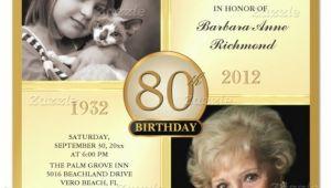 80th Birthday Invitations Templates Free 26 80th Birthday Invitation Templates Free Sample