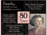 80th Birthday Party Photo Invitations Invitations On Pinterest Birthday Invitations 90th