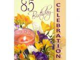 85 Birthday Invitations 85th Birthday Celebration Party Invitation Zazzle