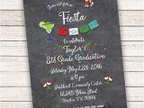 8th Grade Graduation Invitation Wording Fiesta Graduation Invitations Printable 8th Grade Graduation