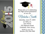 8th Grade Graduation Invitation Wording Items Similar to Graduation Invitation Personalized