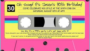 90s Party Invitations How to Plan A 90s Party Food Games and Decor Ideas