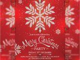 A5 Party Invitation Template Christmas Invitation Seasonal A5 Flyer Template