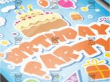A5 Party Invitation Template Kids Birthday Invitation Card A5 Psd Template