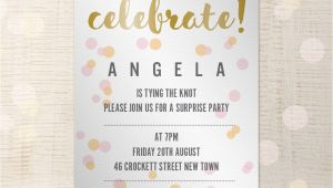 A5 Party Invitation Template Party Invitation Customisable A5 Indesign Template