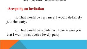Accepting Birthday Invitation Accepting Invitation Birthday Party Image Collections