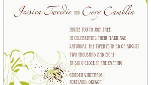 Adobe Illustrator Wedding Invitation Template Adobe Illustrator Wedding Invitation 2008 by Cory