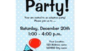 Adoption Party Invitation Wording 1 000 Adoption Invitations Adoption Announcements