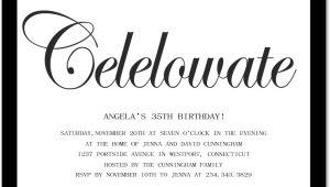 Adult Birthday Invitation Wording 10 Birthday Invite Wording Decision – Free Wording
