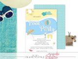 Adult Pool Party Invitations Pool Party Invitation Adult Pool Party Invitation Summer