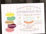 Afternoon Tea Baby Shower Invitations Baby Shower Invitation afternoon Tea with the Mom to Be