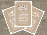 Afternoon Tea Baby Shower Invitations High Tea Baby Shower Invitation Tea Party Invite for Baby
