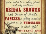 Alice In Wonderland Bridal Shower Invitation Template 22 Fairy Alice In Wonderland themed Bridal Shower Ideas