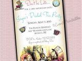 Alice In Wonderland Bridal Shower Invitation Template Bridal Shower Invitations Free Alice In Wonderland Bridal