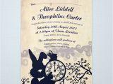 Alice In Wonderland Bridal Shower Invitation Template Wedding On Pinterest