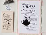 Alice In Wonderland Tea Party Invitation Ideas Alice In Wonderland Tea Party Invitation Wording