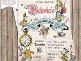 Alice In Wonderland Tea Party Invitation Ideas Best 25 Alice In Wonderland Invitations Ideas On