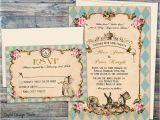 Alice In Wonderland Wedding Invitation Template Fairytale Wedding Invitations Wedding Invitations Alice