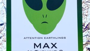 Alien Party Invitations Items Similar to Alien Birthday Party Invitation Alien