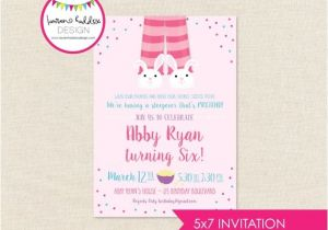 Almost Sleepover Party Invitations Almost Sleepover Birthday Invitation Almost Sleepover