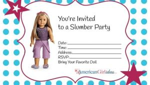 American Girl Doll Party Invitations American Girl Party Invitations American Girl Ideas