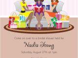 American Greetings Baby Shower Invitations Fun Bridal Shower Invitation African American Girls