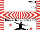 American Ninja Warrior Birthday Invitation Template American Ninja Warrior Birthday Party Sweetdesignsbyregan