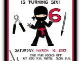 American Ninja Warrior Birthday Invitation Template Birthday Invitation Templates Ninja Birthday Invitations