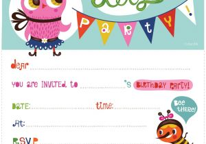 An Invitation for A Birthday Party 100 Free Birthday Invitation Templates You Will Love