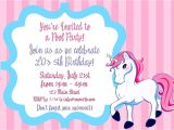 An Invitation for A Birthday Party Birthday Invitation Letter