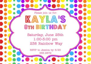 An Invitation for A Birthday Party Birthday Party Invitations Printable