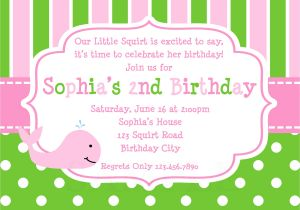 An Invitation for A Birthday Party How to Design Birthday Invitations