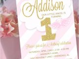 Angel themed Birthday Party Invitations Angel Party Invitation